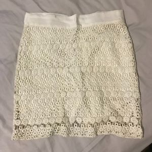 Banana Republic Lace Skirt